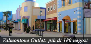 outlet di valmontone